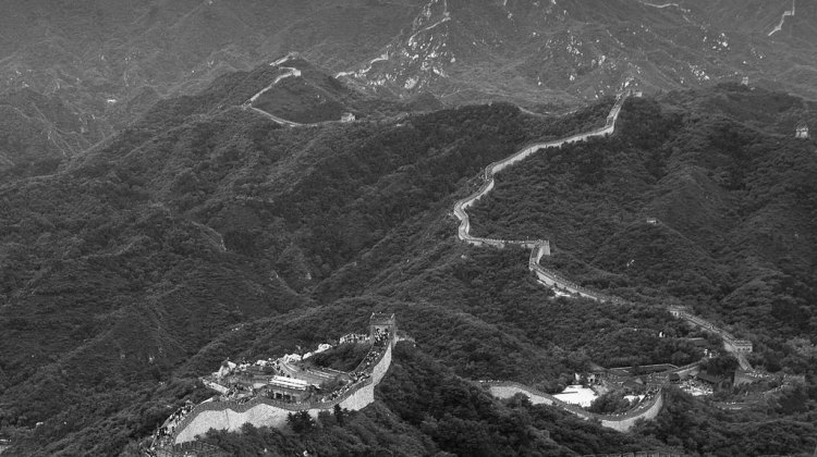A day trip to see China's Great Wall is mandatory when traveling this far. © Cyclocross Magazine