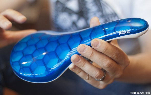 The Cell is the most comfort-driven of the Fabric saddles. © Cyclocross Magazine