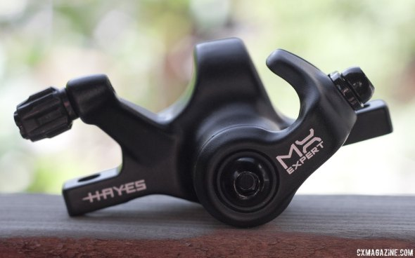 The Hayes CX Expert is the renamed model for the CX-5 brake caliper.