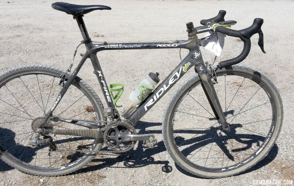 The Lost and Found winning Ridely X-Fire. © Cyclocross Magazine