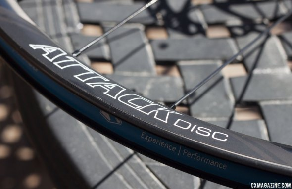 Reynolds Attack is the company's lightest weight option, and is now availible with disc brakes