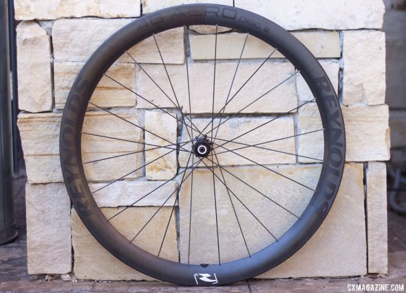 The Reynolds much anticipated 46 Aero Disc, shown here waiting for a potential owner to install a tire and rotor