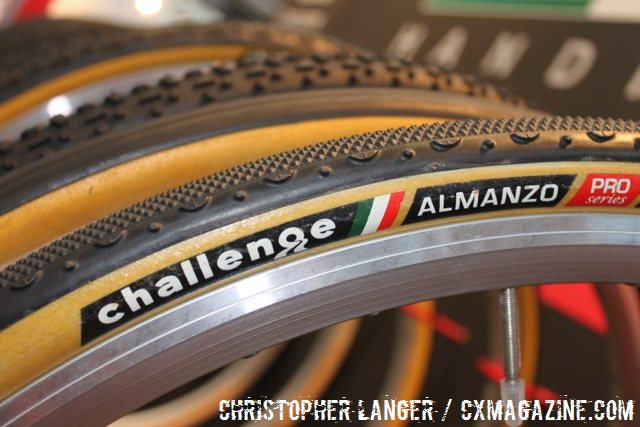 The Almanzo is the old Grifo XS, and is now part of the Challenge's gravel line – tougher sidewalls and higher protection is the key. © Christopher Langer.