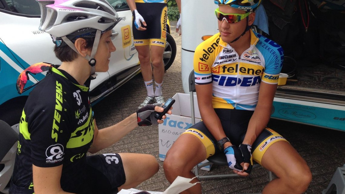 Tom Meeusen, shown here in the pre-season, will not be at Worlds this year. © Jo Croonenberghs