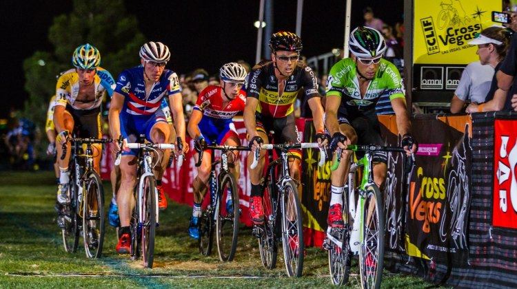 Vanthourenhout paced Nys and chased down attacks. 2014 CrossVegas © Thomas van Bracht / Peloton Photos