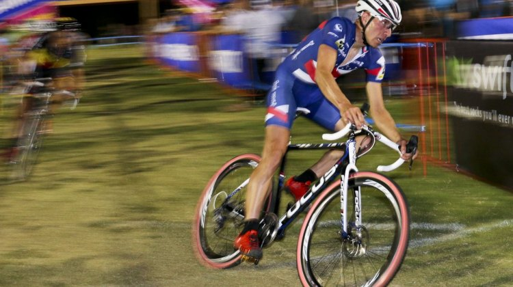Jeremy Powers at CrossVegas 2014. © Cyclocross Magazine