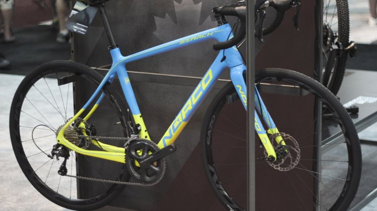 Norco describes their Search XR as an all road bike, lending itself to gravel and adventure rides with a sub-1000g carbon frame. © Cyclocross Magazine