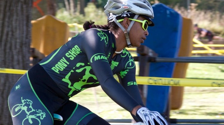 Christine Tejada Leppanen (Chicago, IL) racing in the women's single speed category. © SnowyMountain Photography