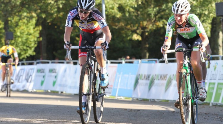 Sanne Cant, hero of this year's Superprestige events. © Bart Hazen