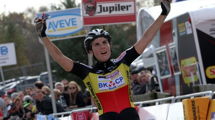 Sanne Cant has been unstoppable in the Superprestige races. © Bart Hazen