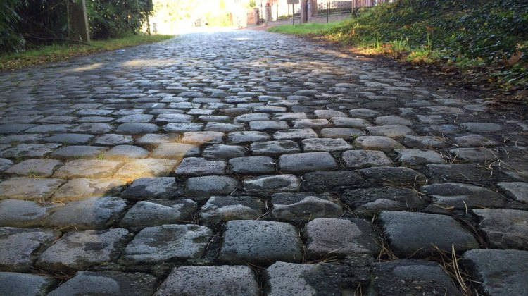 Waking up to cobbles could be the best medicine for a cold. © Elle Anderson