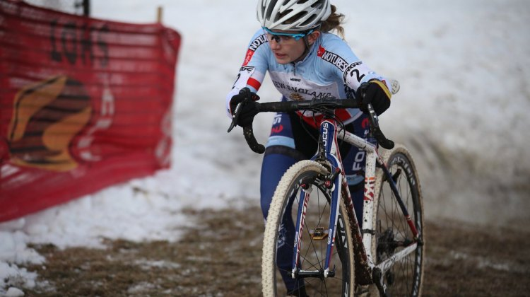 Ellen Noble took the first UCI win of her career at Baystate. © Meg McMahon