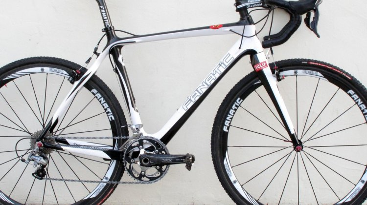 The Cycles Fanatic CX1: on old-school build with a race oriented geometry. © Cyclocross Magazine