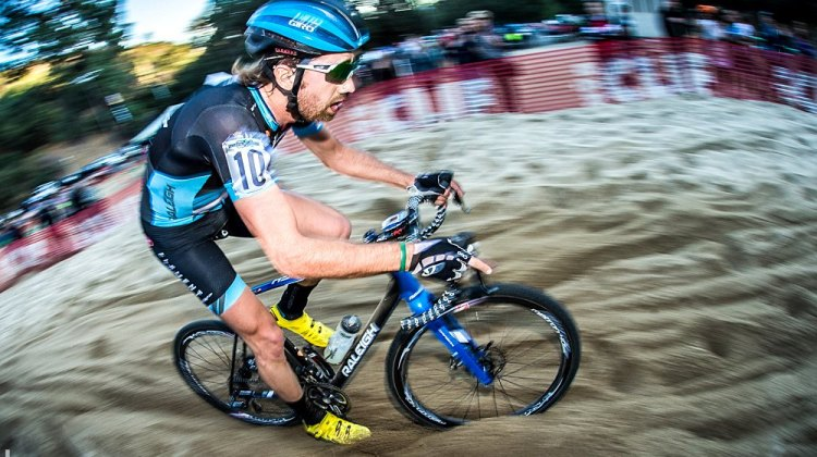 Jamey Driscoll took off early in the race for a solo win. © Philip Beckman/PB Creative