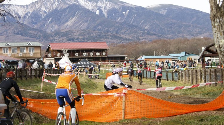 Nobeyama features a spectacular setting and all the right amenities for a top-notch cyclocross race. Unfortunately, it's just far from most population centers. © Cyclocross Magazine