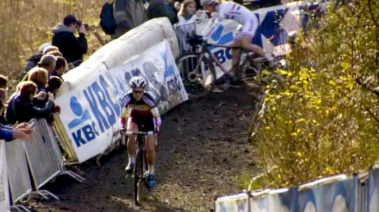 Even with hydraulic disc brakes, riding the descents was risky at best.