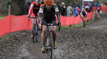 Crystal Anthony has been notching up top 25s in Europe. © Bart Hazen/Cyclocross Magazine
