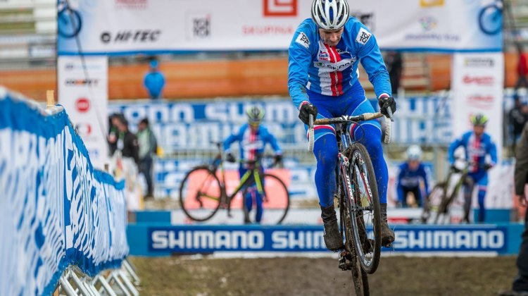 Martin Bina had an off year due to injury, but is looking to air it out this weekend with a stellar ride in front of his home fans. In 2010, he finished fourth. © Matt Lasala / Cyclocross Magazine