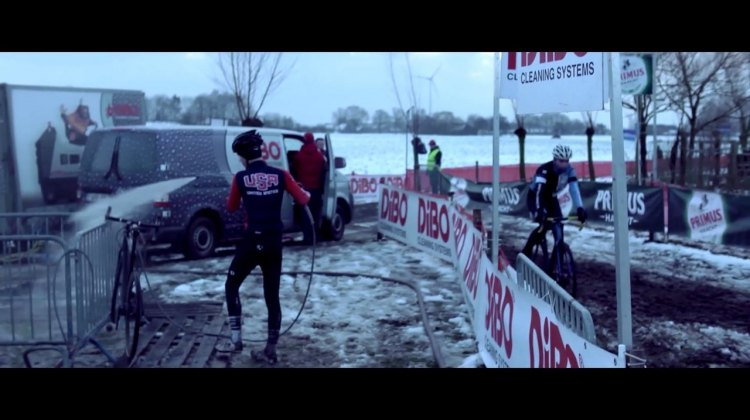 Watch the USAC Cyclocross Devo Camp in training in Belgium.
