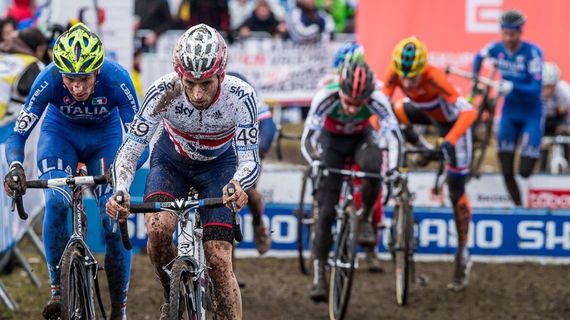Ian Field finished 21st, besting the Americans, but had hoped for a top 15. © Matthew Lasala / Cyclocross Magazine