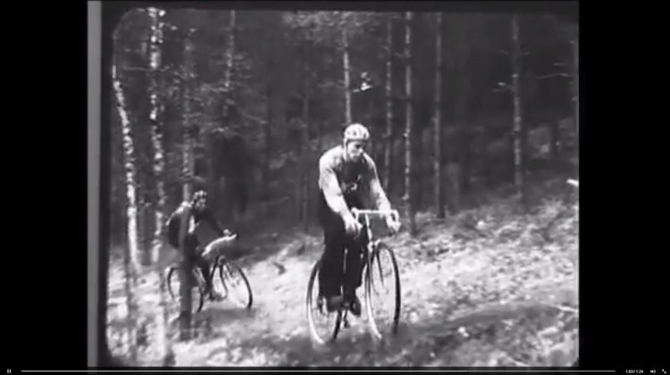 Old school cyclocross, from years ago in Czechoslovakia