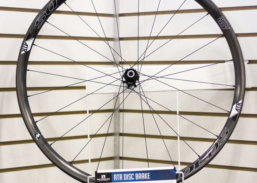 Reynolds' All Terrain Road disc wheelset. NAHBS 2015. © Cyclocross Magazine