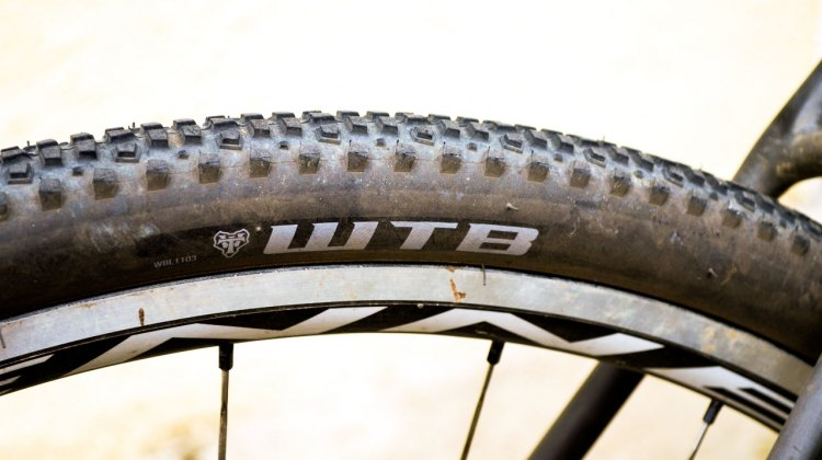 The WTB Cross Boss is a versatile tire with a great grip. © Cyclocross Magazine