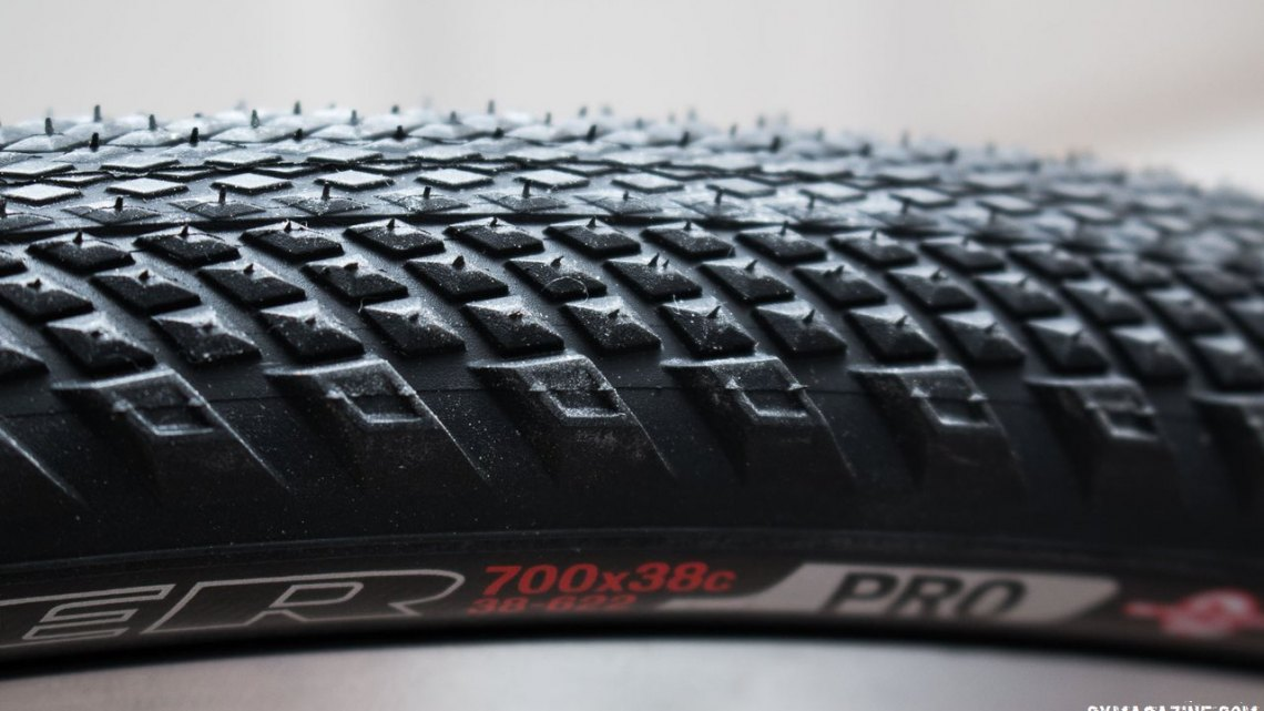 Specialized Trigger 38c tire. © Cyclocross Magazine