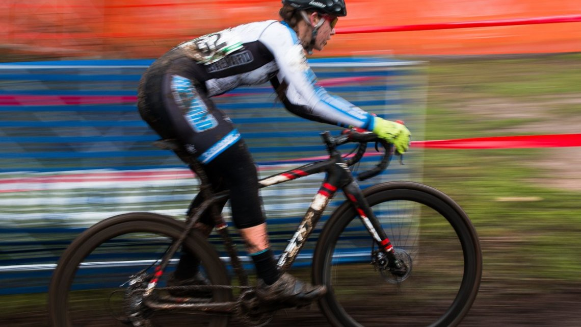 Alison Arensman's Nationals-Winning Felt Cyclocross Bike. © Cyclocross Magazine