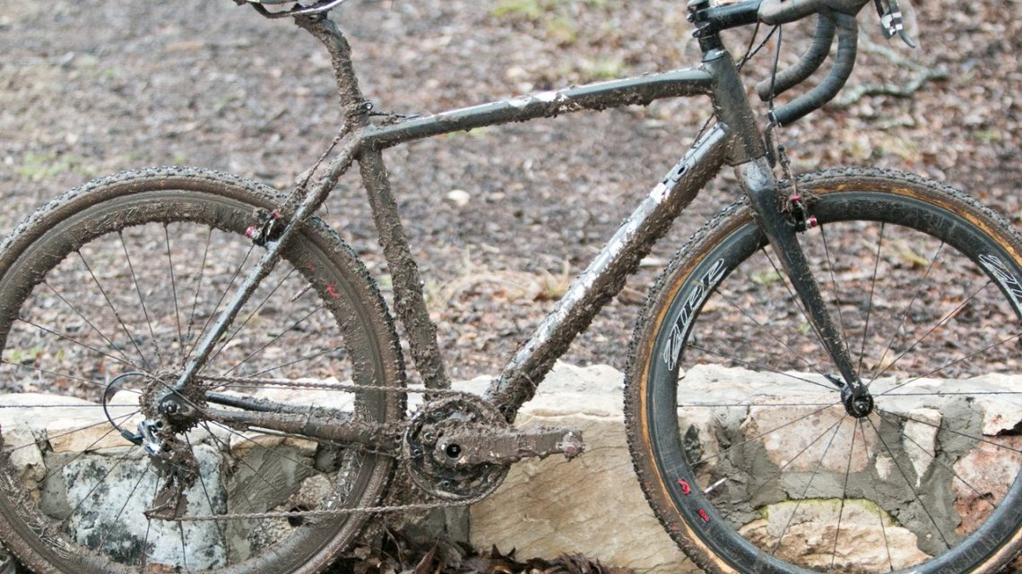 Andrew Dillman's Nationals-Winning Trek Crockett. © Cyclocross Magazine