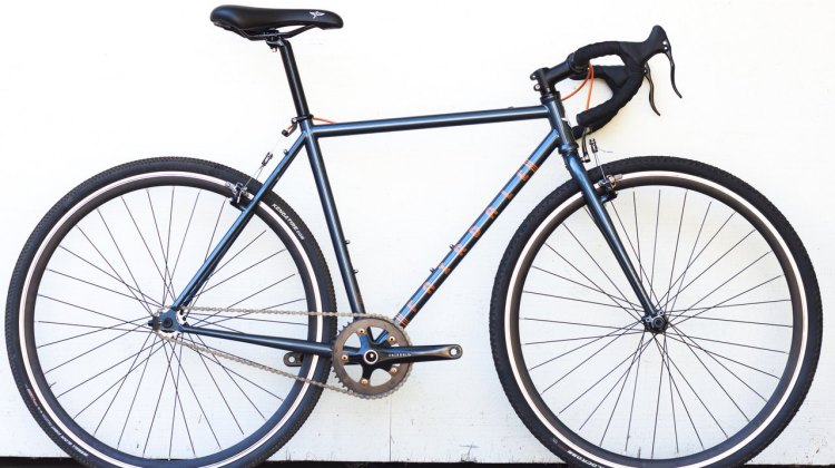 The Fairdale Parser chromoly steel frame cyclocross bike. © Cyclocross Magazine