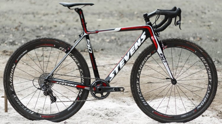 Karen Brems' 2015 Nationals-winning Stevens Prestige cyclocross bike.
