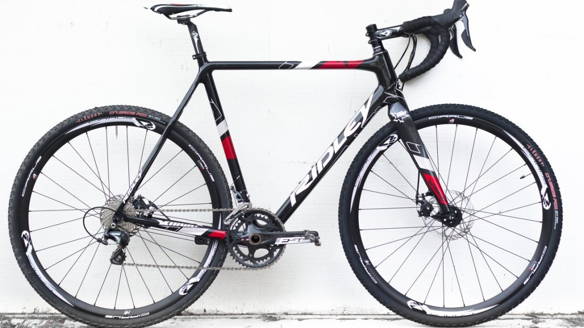 The Ridley X-Night 30 Disc Cyclocross Bike. © Cyclocross Magazine