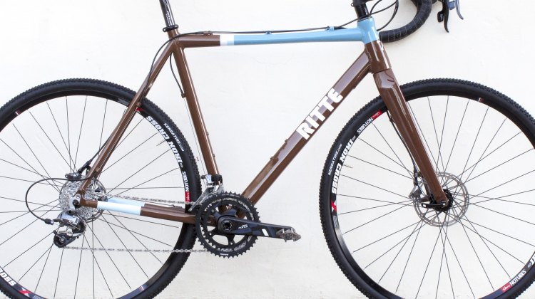 The Ritte Crossberg Cyclocross Bike. © Clifford Lee / Cyclocross Magazine