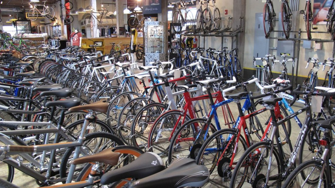 Local Bike Shops matter. photo by Scott Beale (flickr)