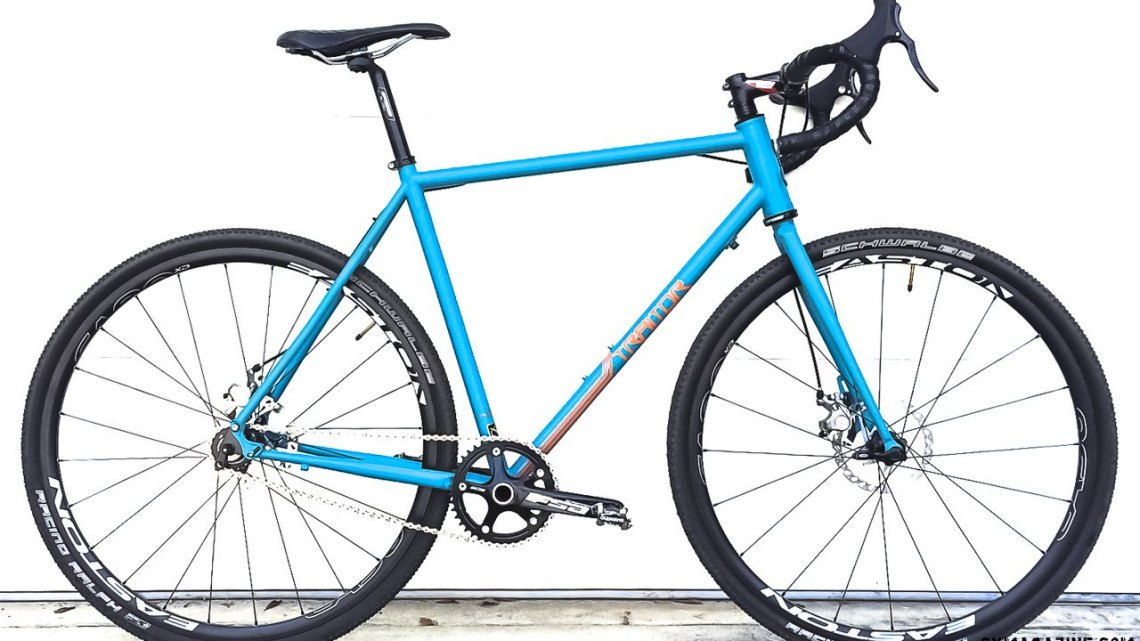 The Traitor Cycle's Crusade Cyclocross Bike. © Lee Slone / Cyclocross Magazine