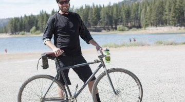 Singlespeed coaster brake-equipped gravel bike. © Cyclocross Magazine