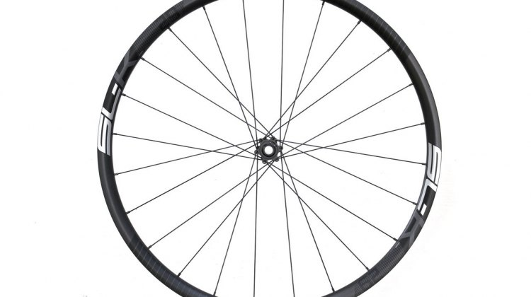 FSA's SL-K carbon 29er/cyclocross wheels is the middle model of three new mountain bike wheelsets, with the carbon K-Force above, and an alloy Afterburner below. © Cyclocross Magazine