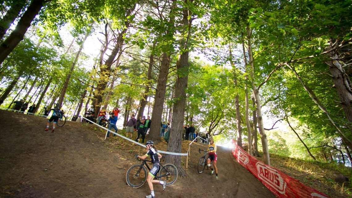 Race and spectate among the big trees Ellison Park Cyclocross as a VIP with our latest contest. photo: courtesy