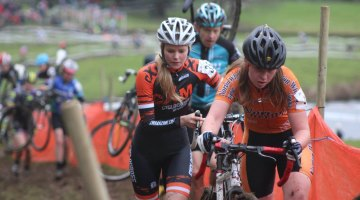 Joanna & Hannah Ripley at the Castle CX race. Photo from www.cxmagazine.com Racing Team