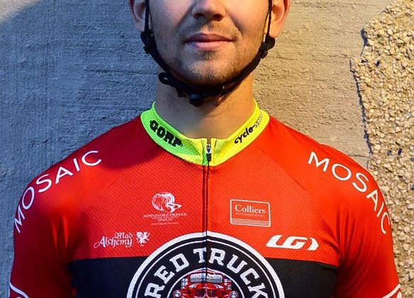 Raphael Gagne headlines the new Red Truck - Louis Garneau p/b Easton cyclocross team © Todd Jordan