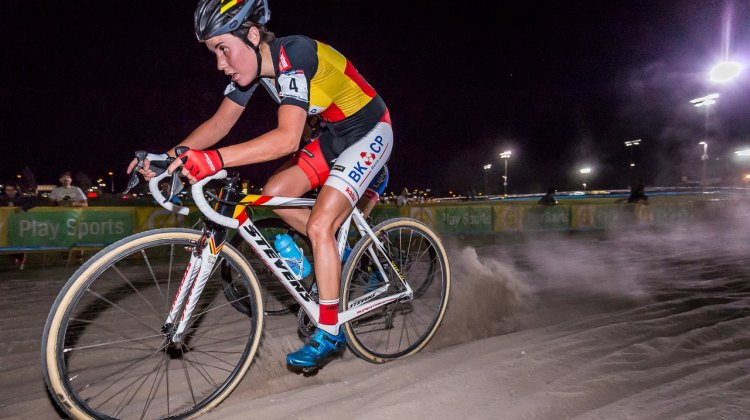 CrossVegas marks Cant's first race in the United States. © Matthew Lasala / Cyclocross Magazine