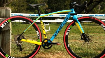 Erin Faccone's Specialized Crux with NEXT Wheels. © Andrew Reimann / Cyclocross Magazine