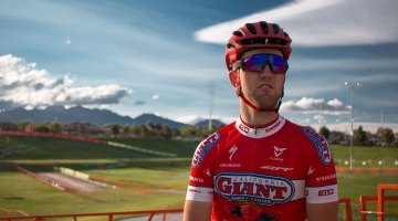 Tobin Ortenblad contemplates his first Elite World Cup, and the first-ever American World Cup. © Cyclocross Magazine