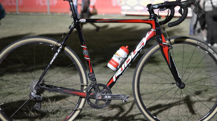 Ridley X-Night SL. © Clifford Lee / Cyclocross Magazine