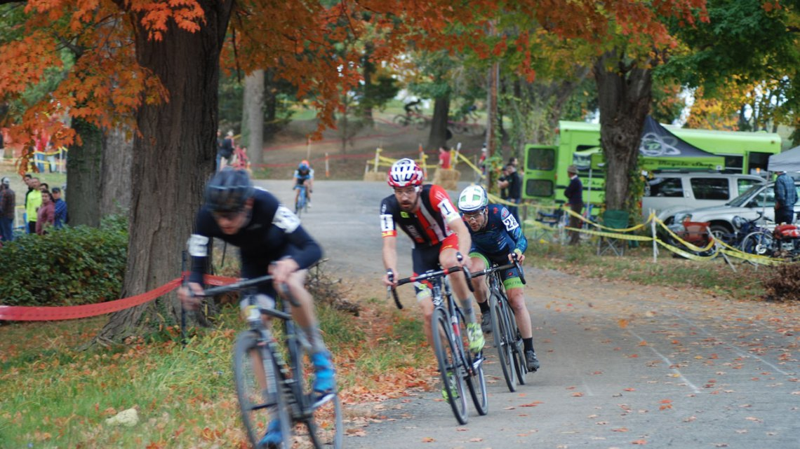 Cameron Dodge doubled up, winning DCCX on both Saturday and Sunday. © Neil Schirmer
