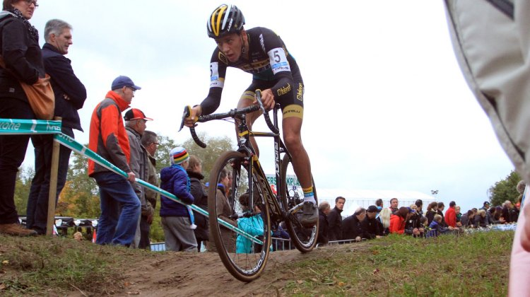 Tom Meeusen at Superprestige Zonhoven. © Bart Hazen