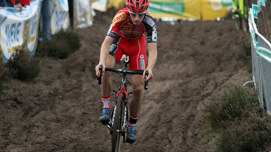 Kevin Pauwels finished fourth at Superprestige Zonhoven. © Bart Hazen
