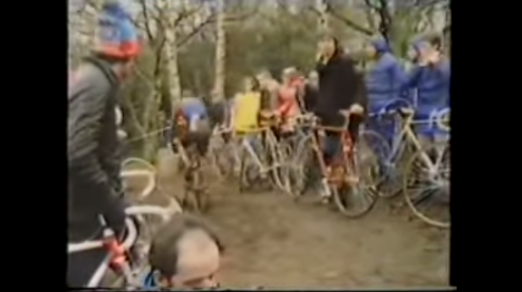 Check out this video from the archives: the Halfords International Cyclocross race, 1983