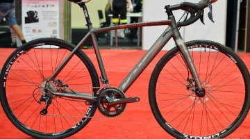The 7005 Aluminum Grit 220 gravel bike equipped with Tiagra with road compact gearing and mechanical disc brakes